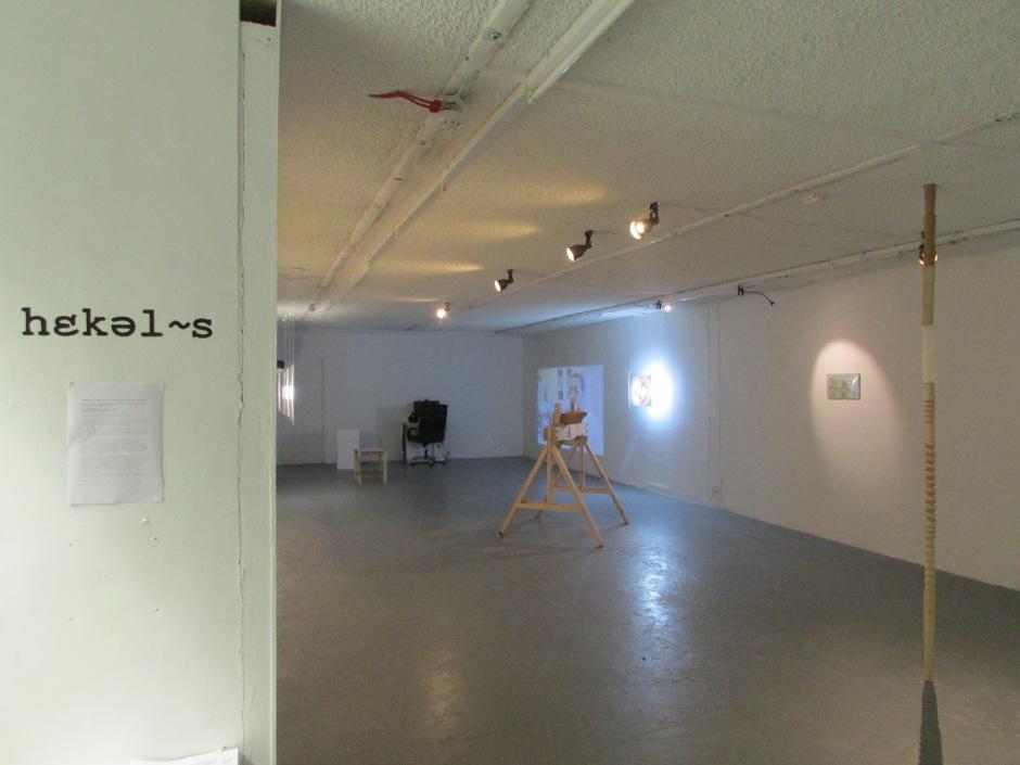 'Heckles' installation shot