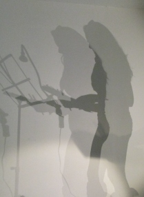 Ruth Kerr's shadow