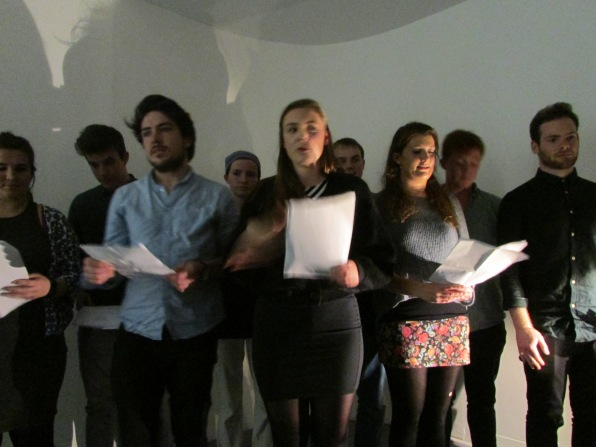 Rachel Thomas + Poetry Choir