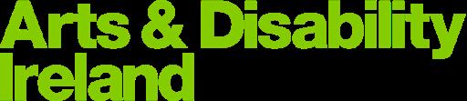 Arts and Disability Ireland green Logo